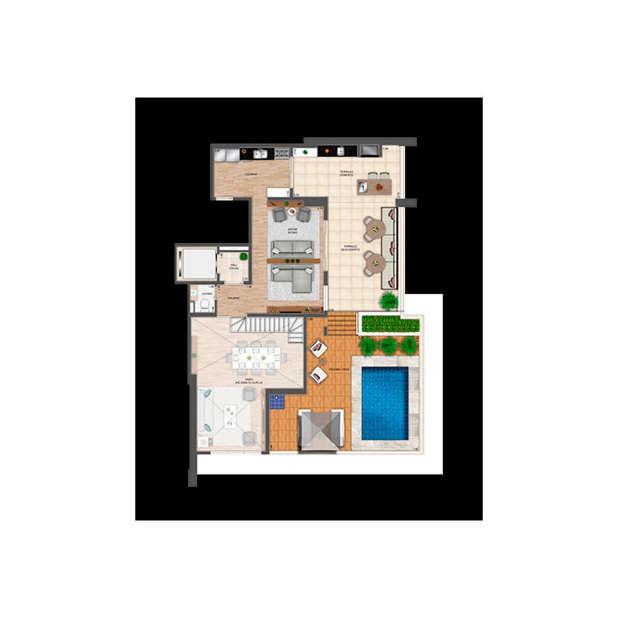 308 m² | Duplex Superior Grand Panamby