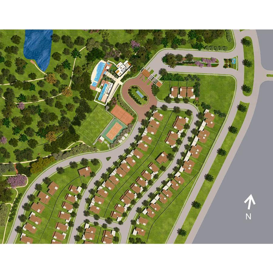 Ilustração Artística da Implantação Jardim Sul Riberão Preto