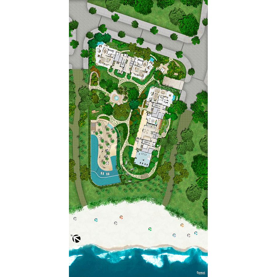 Implantação Península de São Lourenço