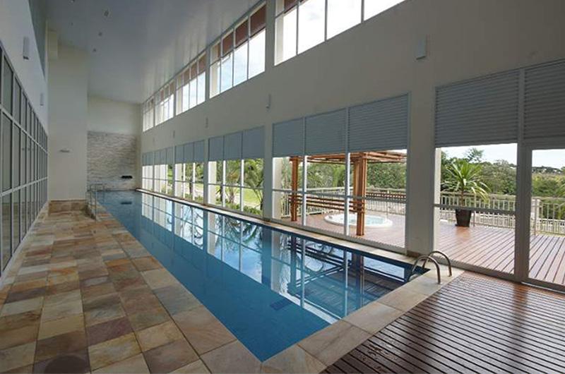 piscina adulto coberta Jardim Sul Riberão Preto