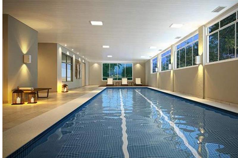 piscina adulto coberta Taman Jardim Sul