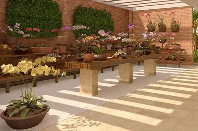 orquidário Taman Jardim Sul