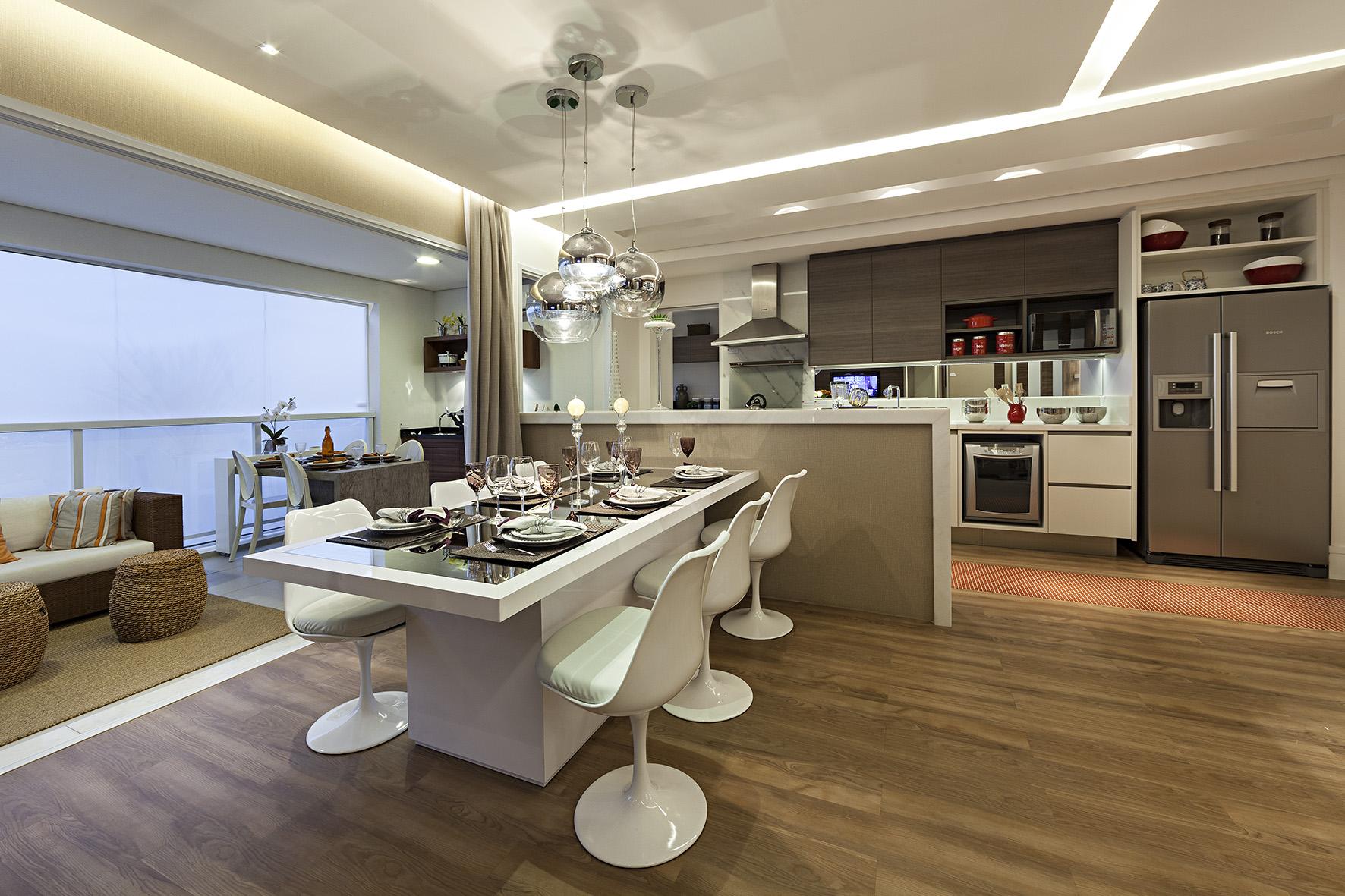 Cozinha - Decorado 141m² NEW PARKER