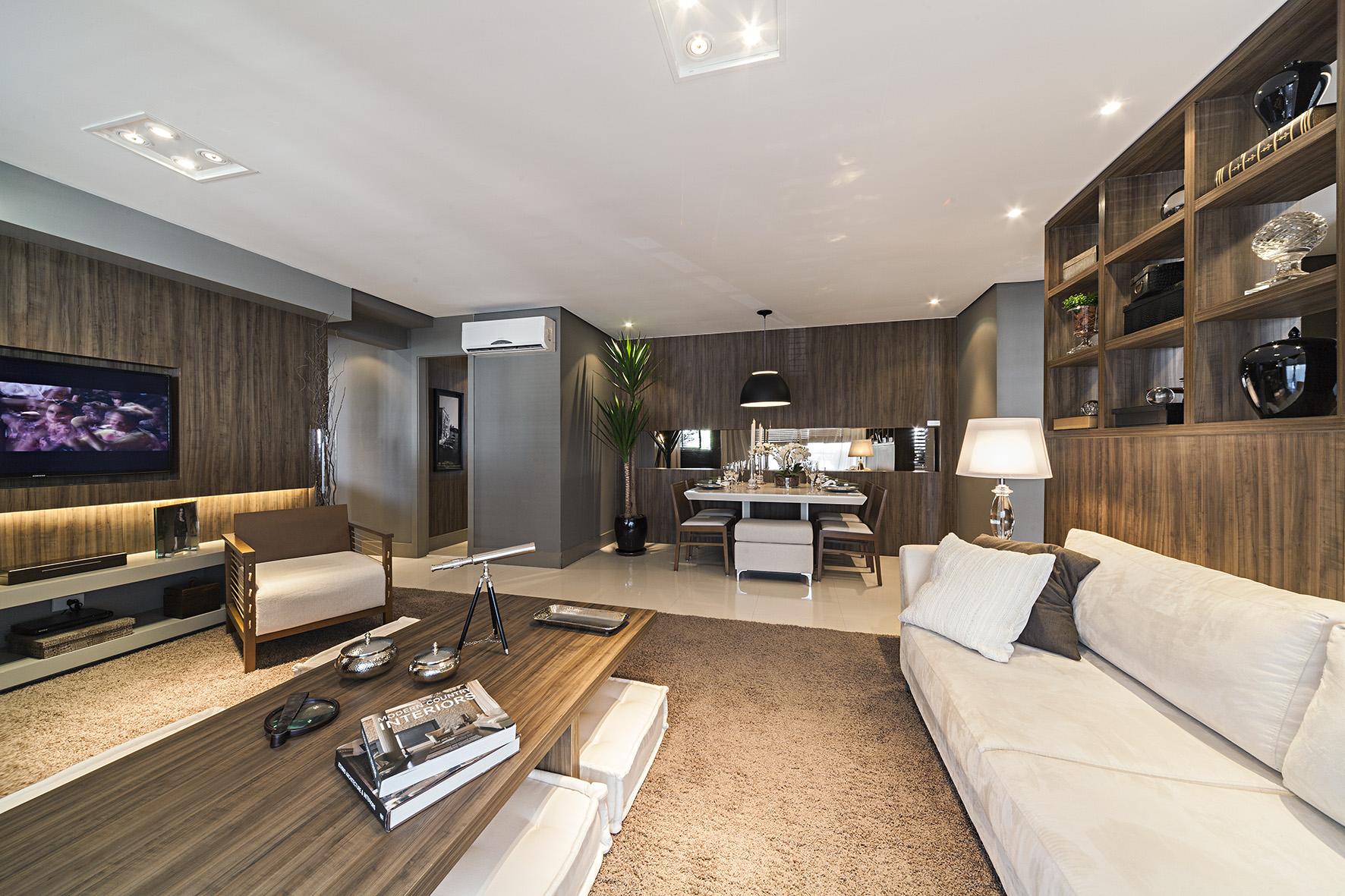 Living - Decorado 111m² NEW PARKER