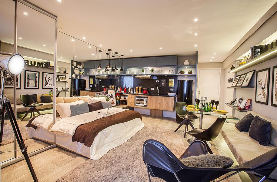 Foto decorado Studio 32m² Mid Home
