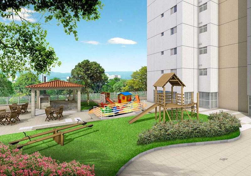 Perspectiva Ilustrativa do Playground Vila Marina