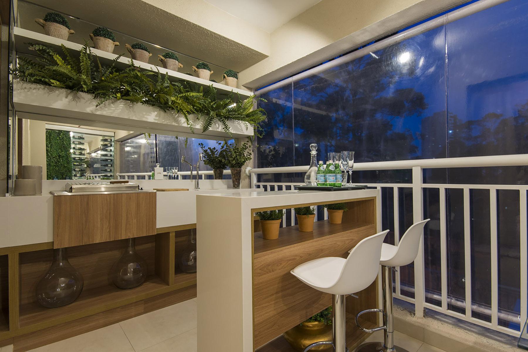 Varanda Gourmet - 96 m² O2 Jardim Sul