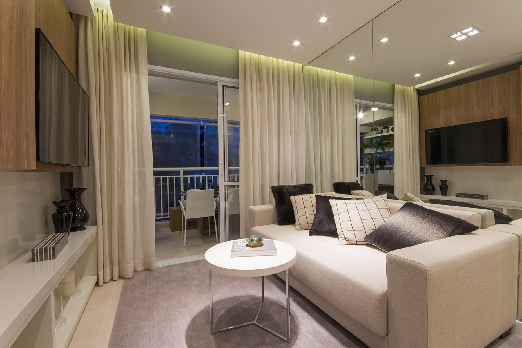 Living - 96 m² O2 Jardim Sul