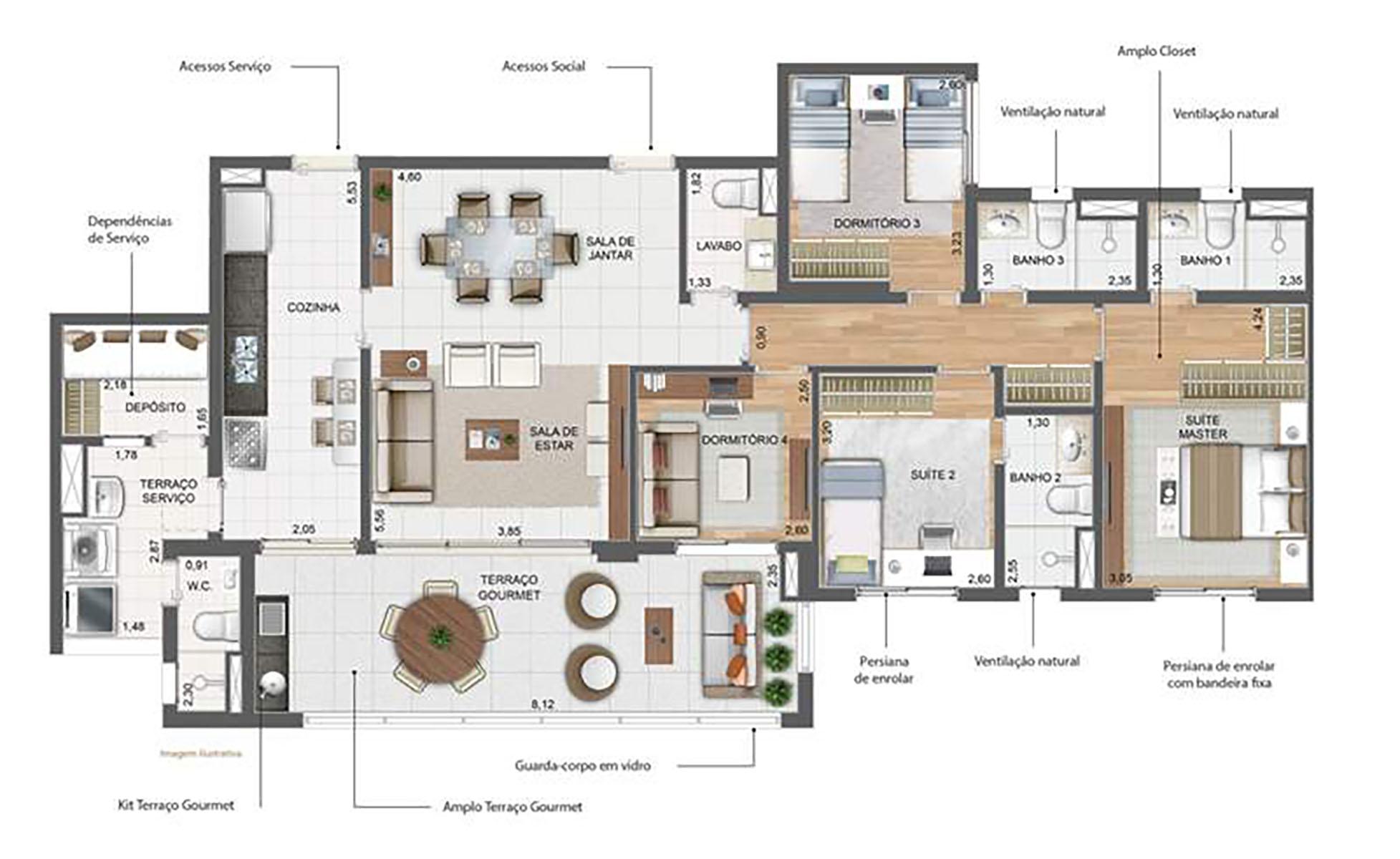 141 m² Padrão › NEW PARKER