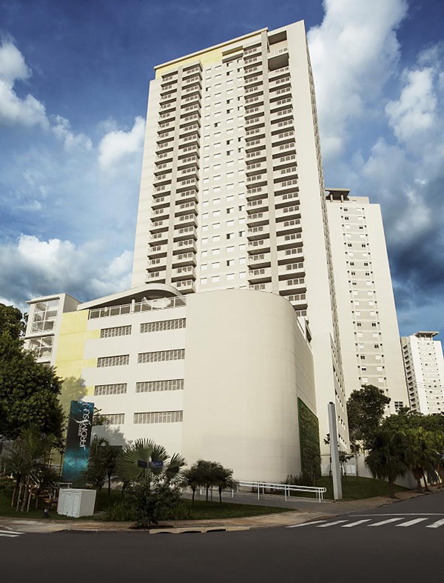 Fachada da Torre Gallery In Jardim Sul