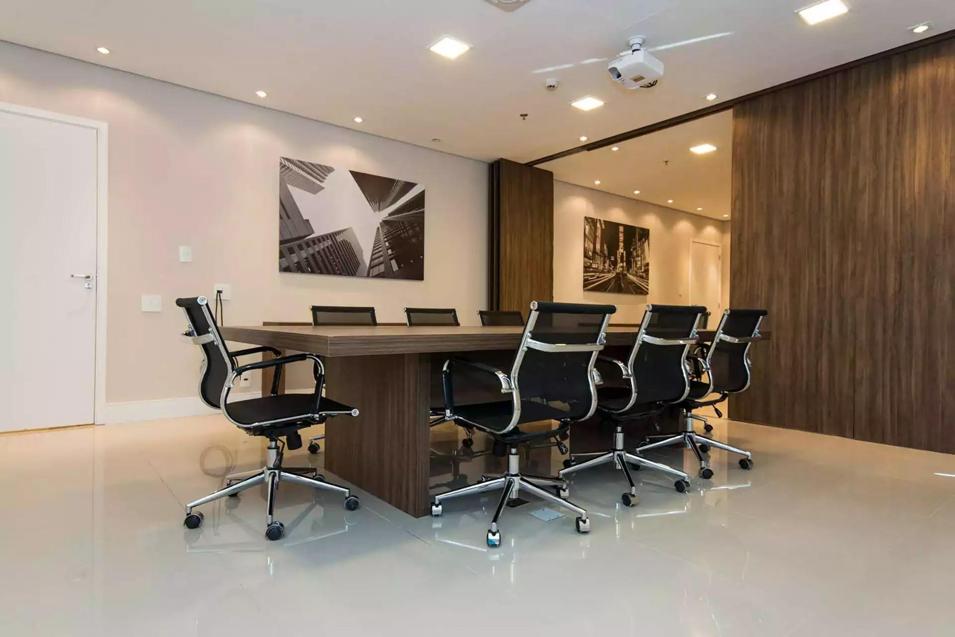 Sala de Reunião com possibilidade de Junção Jurubatuba Empresarial