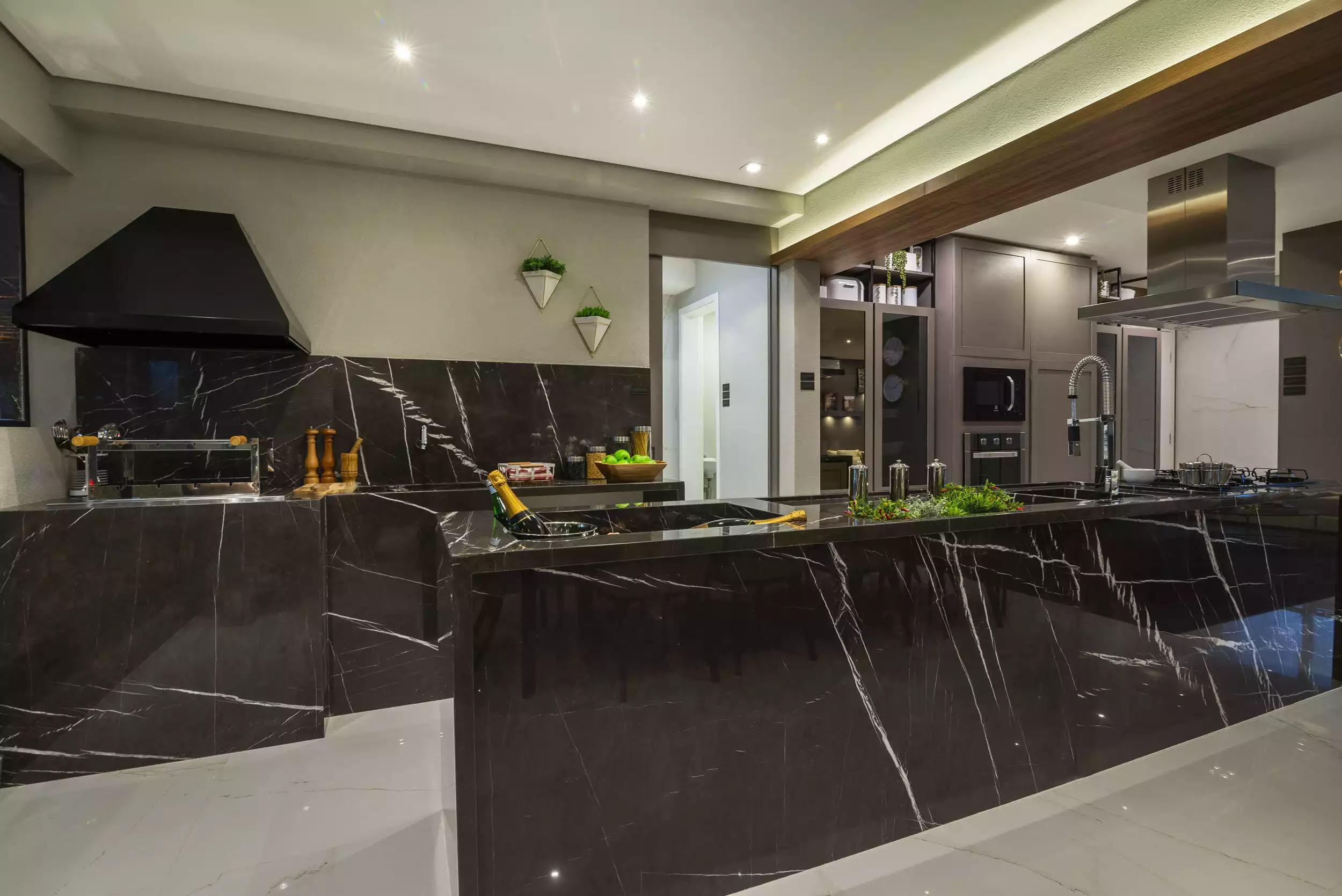 Decorado - Cozinha Integrada  1300 Jurupis