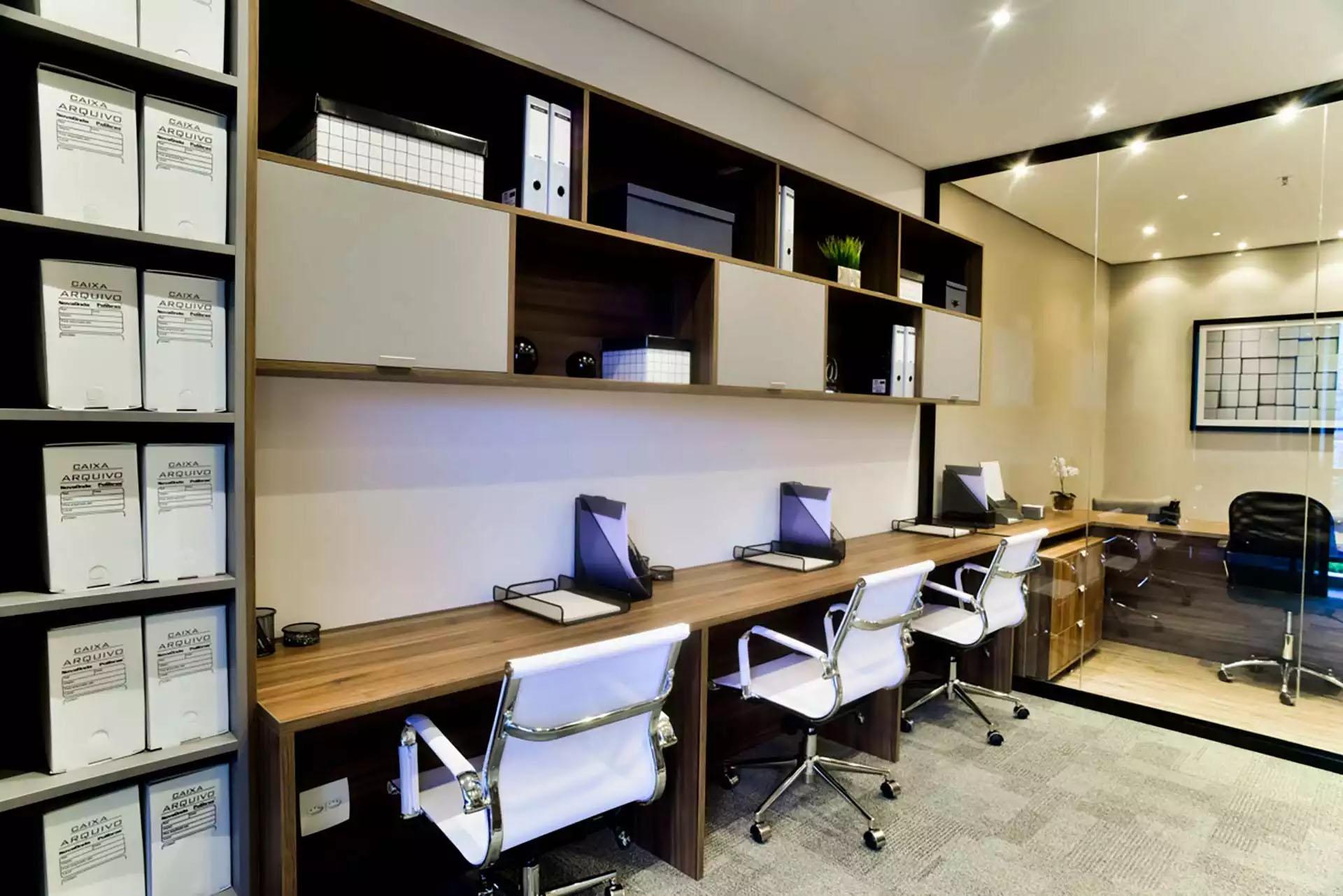 Sala Decorada - 45m² Jurubatuba Empresarial